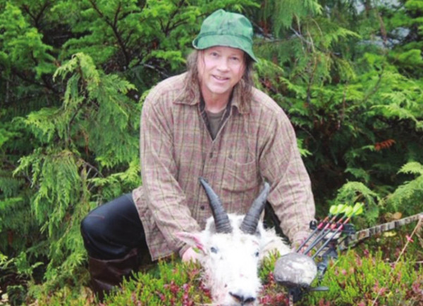 Former resident arrows world record mountain goat