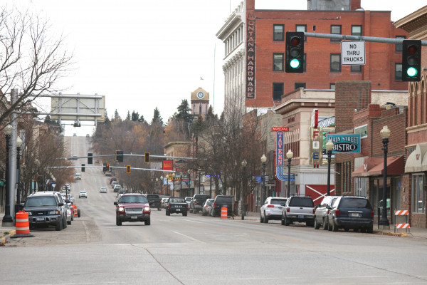 Lewistown's Main Street is the focus of several community groups.