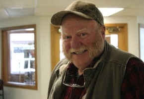 Bruce Luhrsen: I'm thankful to live right here in Central Montana, I'm thankful to have family close by and I'm thankful for being newly married. My wife, Dixie, puts up with me.