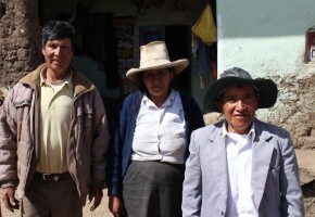 Americo, left, and his wife, stand near the site of their future home in the village of Capoli. Americo had a dream to start a church and Central Baptist Pastor Frank Burns went to Peru to try and help him with that dream. Burns said the experience was exciting and humbling.  Photo courtesy of Frank Burns